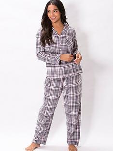 pour-moi-cosy-check-pyjama-set