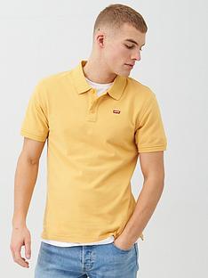 levis-housemark-polo-shirt-gold