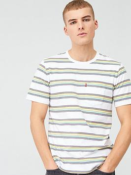 Levi's Levi'S Stripe Sunset Pocket T-Shirt - Grey Picture