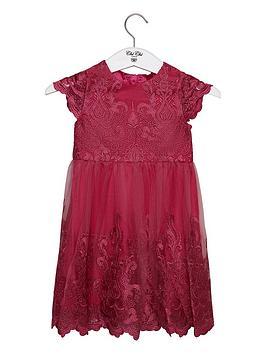 chi chi london Chi Chi London Girls Suki Dress - Fuschia Picture