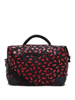 Lulu Guinness Lulu Guinness Red Painted Lip Fenella Holdall Picture