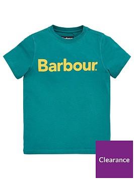 barbour-boys-short-sleeve-logo-t-shirt-green