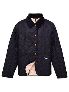 barbour-girls-summer-liddlesdale-quilted-jacket-navy