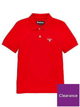 barbour-boys-classic-short-sleeve-pique-polo-top-red