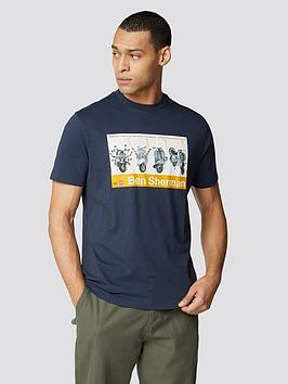 Ben Sherman Ben Sherman Renton T-Shirt - Dark Navy Picture