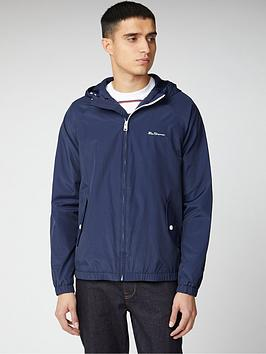 Ben Sherman Ben Sherman Hooded Jacket - Dark Navy Picture