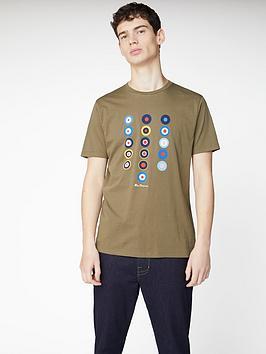Ben Sherman Ben Sherman History Of Target T-Shirt - Khaki Picture