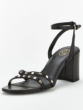 Ash Ash Janis Heeled Sandal - Black Picture