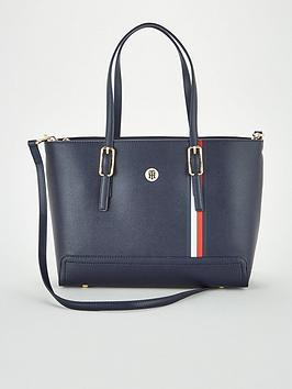tommy-hilfiger-honey-medium-tote-bag-navy
