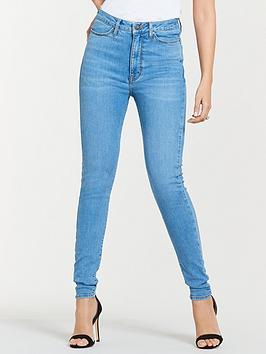 Michelle Keegan Michelle Keegan Premium Skinny Jeans - Light Wash Picture