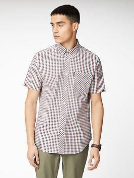 Ben Sherman Ben Sherman Short Sleeve Signature House Check Shirt - Red Picture
