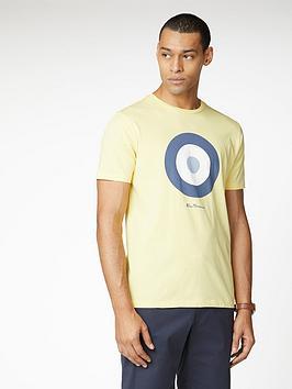 Ben Sherman Ben Sherman Signature Target T-Shirt - Lemon Picture