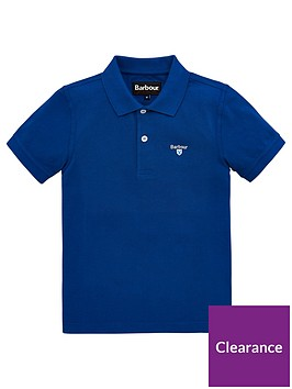 barbour-boys-classic-short-sleeve-pique-polo-shirt-blue