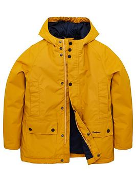 Barbour Barbour Boys Southway Hooded Jacket - Yellow Picture