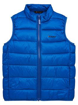 Barbour Barbour Boys Bretby Padded Gilet - Blue Picture