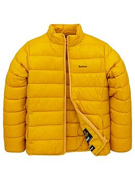 Barbour Barbour Boys Penton Quilt Jacket - Yellow Picture