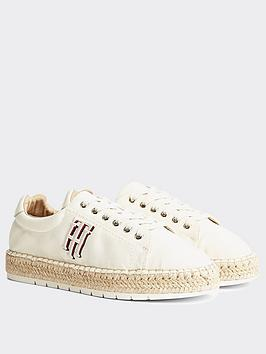 Tommy Hilfiger Tommy Hilfiger Tommy Hilfiger Nautical Lace Up Espadrille Picture