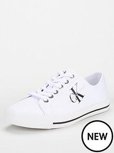 calvin-klein-jeans-low-pro-pumps-white