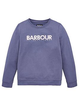 Barbour International Barbour International Girls Fullcourt Crew Sweat Top Picture