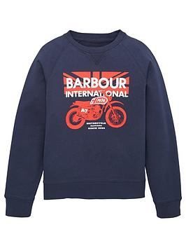 Barbour International Barbour International Boys Spark Crew Sweatshirt -  ... Picture