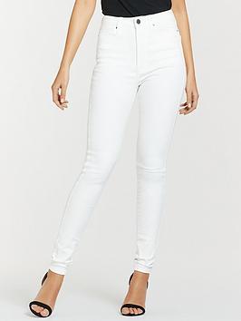Michelle Keegan Michelle Keegan Premium Skinny Jeans - White Picture