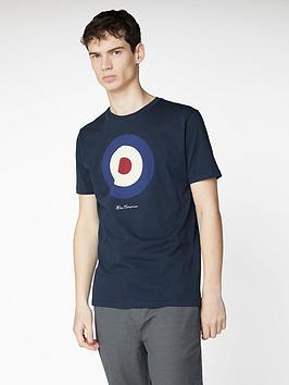 Ben Sherman Ben Sherman Signature Target T-Shirt - Dark Navy Picture