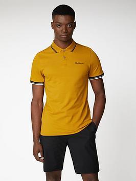 Ben Sherman Ben Sherman Signature Polo Shirt - Dijon Picture