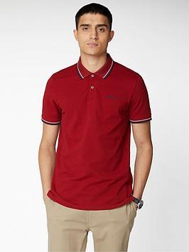 Ben Sherman Ben Sherman Signature Polo Shirt - Red Picture