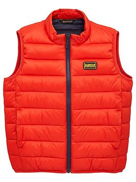 Barbour International Barbour International Boys Reed Quilt Gilet - Red Picture