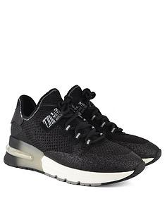 ash-krush-glitter-trainers-black