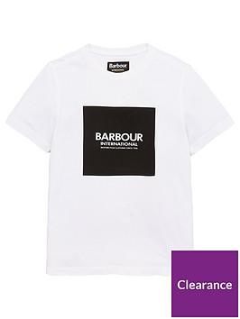barbour-international-boys-block-logo-t-shirt-white