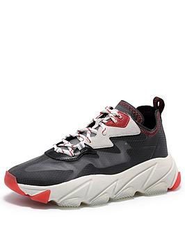 Ash Ash Eclipse Chunky Trainers - Black Picture