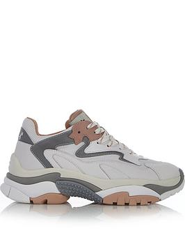 Ash Ash Addict Chunky Sole Trainers - White/Grey Picture