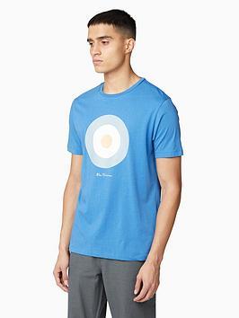 Ben Sherman Ben Sherman Signature Target T-Shirt - Blue Picture