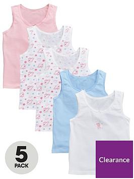 peppa-pig-girls-5-pack-vests-pink