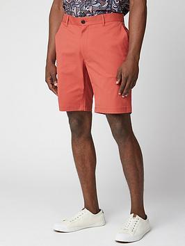ben-sherman-signature-chino-shorts-red
