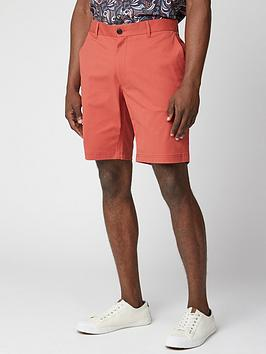 Ben Sherman Ben Sherman Signature Chino Shorts - Red Picture