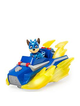 Paw Patrol Paw Patrol Mighty Pups Charged Up Vechicle - Chase Picture