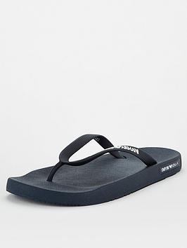 Emporio Armani Emporio Armani Flip Flops - Black Picture