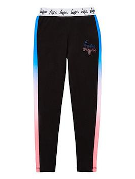 Hype Hype Girls Taped Fade Leggings - Black Picture