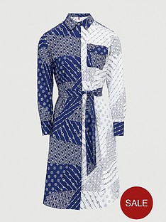 tommy-hilfiger-millie-print-shirt-dress-ivory