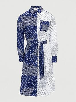 Tommy Hilfiger Tommy Hilfiger Millie Print Shirt Dress - Ivory Picture