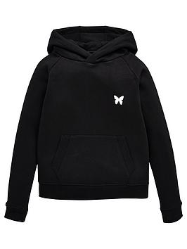 Good For Nothing Good For Nothing Boys Logo Overhead Hoodie - Black Picture