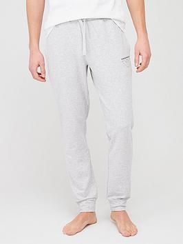 Emporio Armani Bodywear   Thin Eagle Logo Lounge Pants - Grey