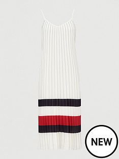 tommy-hilfiger-icon-pleated-dress-white