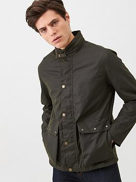 Barbour   Alma Wax Jacket - Olive