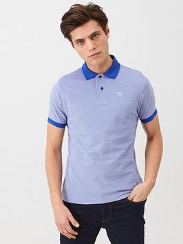 Barbour Barbour Contrast Collar Polo - Navy Picture