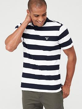Barbour Barbour Large Stripe T-Shirt - Navy Picture