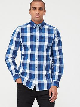 Barbour Barbour Check Shirt - Indigo Picture