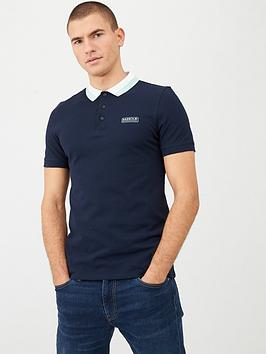 Barbour International Barbour International Ampere Contrast Collar Polo  ... Picture